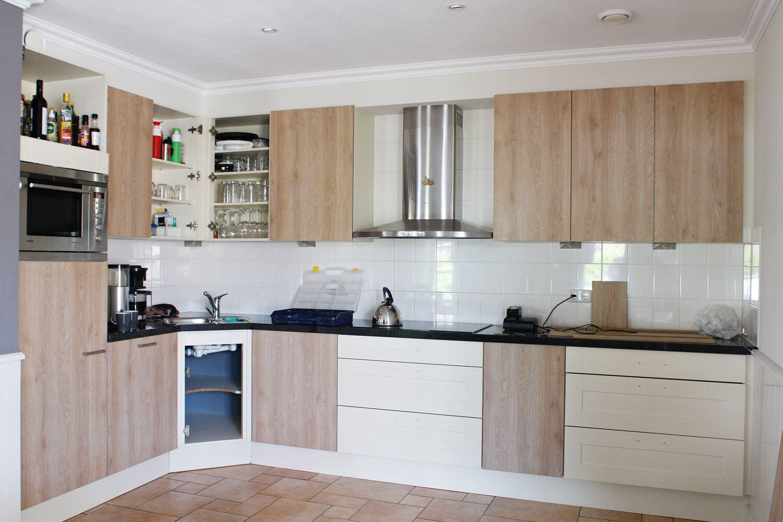 keukenrenovatie tijdens